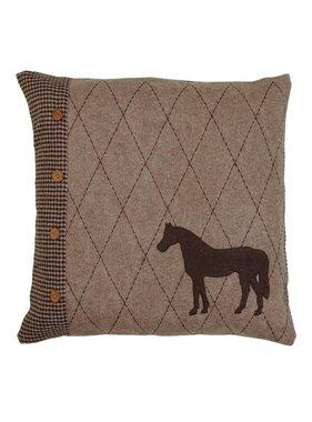 Clayre & Eef Kussenhoes Horse Friends  50 x 50 cm