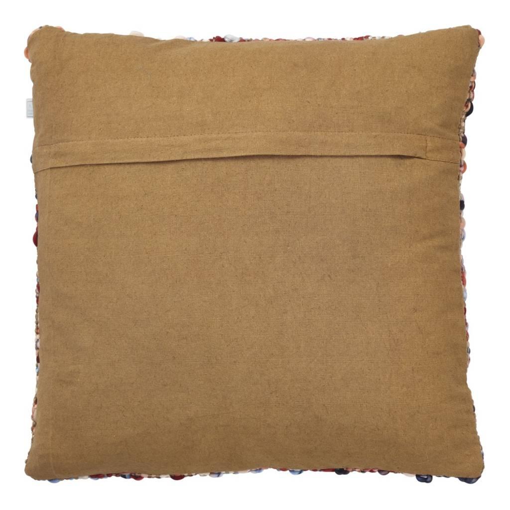dutch decor sierkussens & plaids kussenhoes Bredo 45x45 cm camel