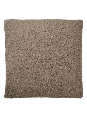 dutch decor sierkussens & plaids Kussenhoes Garan 70x70 cm taupe