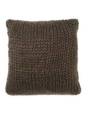 dutch decor sierkussens & plaids Kussenhoes Wilga 45x45 cm bruin