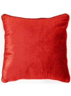dutch decor sierkussens & plaids Kussenhoes Fluweel 45x45 cm rood