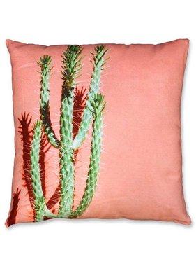 Unique Living sierkussens & plaids Sierkussen / sierkussens Cactus 45x45cm peach