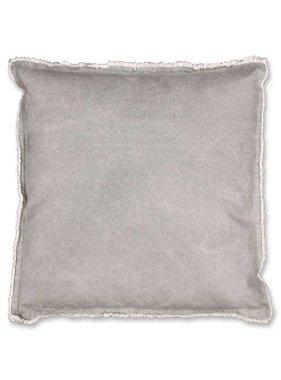 Unique Living sierkussens & plaids Sierkussen / sierkussens Sef 45x45cm grijs