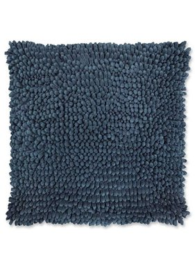 Sierkussen / sierkussens Bo 45x45cm copen blauw