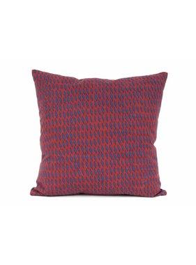 pt, Sierkussen / sierkussens Tuned Mesh donker blauw en burgundy rood vk