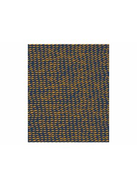 pt, Plaid Tuned Mesh 150 x180 cm curry geel, donker blauw