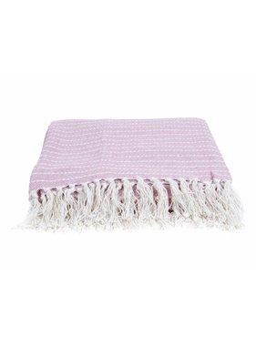 pt, Plaid Ease 150 x180 cm cotton licht roze