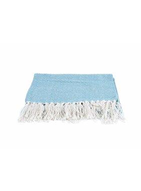 pt, Plaid Cozy 150 x180 cm cotton dusk blauw