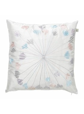 dutch decor sierkussens & plaids Sierkussen / sierkussens  Gierle 45x45 cm licht grijs