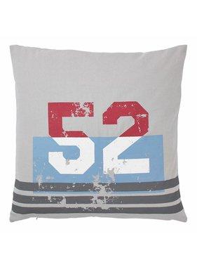 dutch decor sierkussens & plaids Sierkussen / sierkussens  Jamul 50x50 cm licht grijs