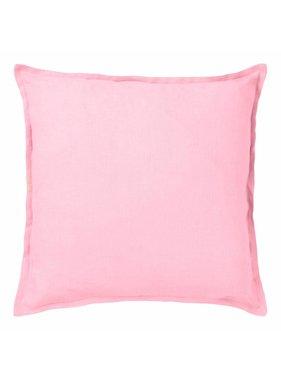 dutch decor sierkussens & plaids Sierkussen / sierkussens  Linnen 45x45cm roze