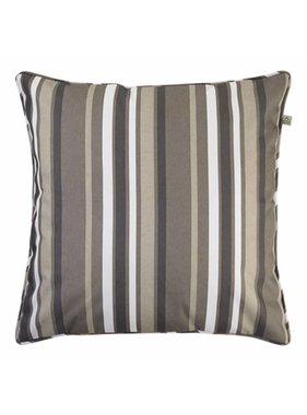 dutch decor sierkussens & plaids Tuinkussen  Sunny 45x45 cm streep naturel
