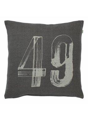 dutch decor sierkussens & plaids Sierkussen / sierkussens  Testas 45x45 cm donker grijs
