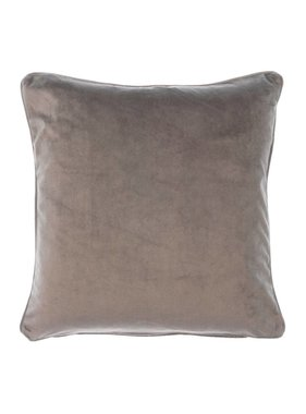 dutch decor sierkussens & plaids Sierkussen / sierkussens  Velvet 45x45 cm donker grijs