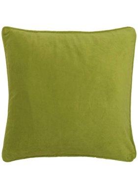 dutch decor sierkussens & plaids Sierkussen / sierkussens  Velvet 45x45 cm lime