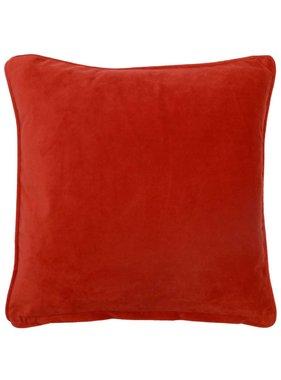 dutch decor sierkussens & plaids Sierkussen / sierkussens  Velvet 45x45 cm rood