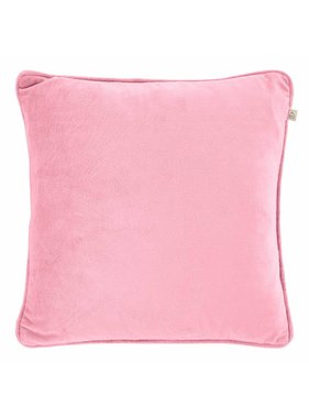 dutch decor sierkussens & plaids Sierkussen / sierkussens  Velvet 45x45 cm roze