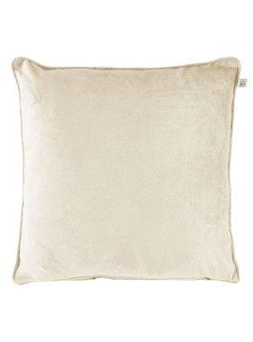 dutch decor sierkussens & plaids Sierkussen / sierkussens  Velvet 45x45 cm zand