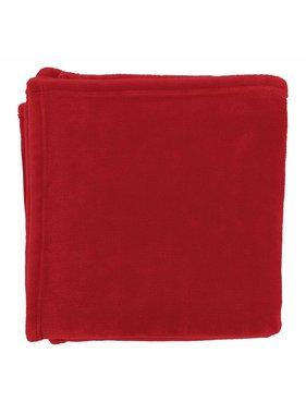 dutch decor sierkussens & plaids plaid Flanel 150x200 cm rood