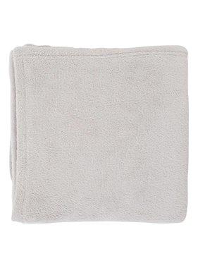 dutch decor sierkussens & plaids plaid Micro 150x200 cm licht grijs