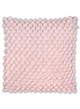 Unique Living sierkussens & plaids Sierkussen /sierkussens Nola 45 x 45 chalk pink