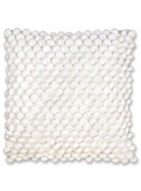 Unique Living sierkussens & plaids Sierkussen /sierkussens Nola 45 x 45 off white