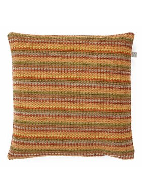 dutch decor sierkussens & plaids Kussenhoes Matlock 45x45 cm brique