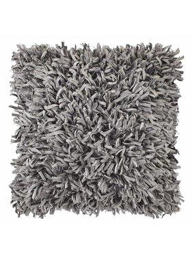 dutch decor sierkussens & plaids Kussenhoes Shannon 45x45 cm donker grijs
