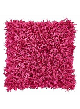 dutch decor sierkussens & plaids Kussenhoes Shannon 45x45 cm fuchsia