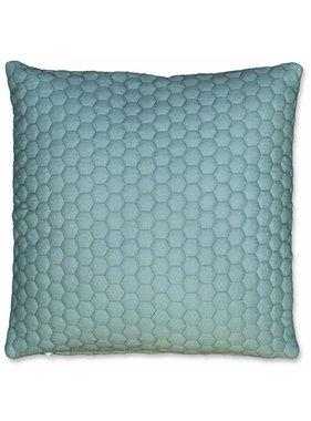 Unique Living sierkussens & plaids Sierkussen / sierkussens Honey 45x45cm mineral blue