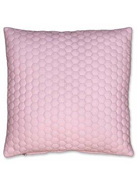 Unique Living sierkussens & plaids Sierkussen / sierkussens Honey 45x45cm mesa rosa