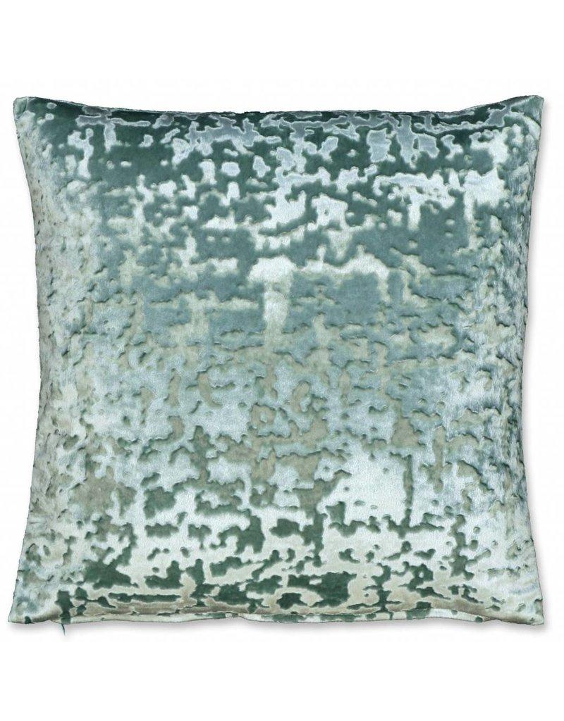 Unique Living sierkussens & plaids sierkussen Jermaine 45x45cm mineral blue