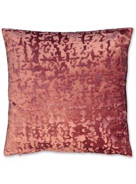 Unique Living sierkussens & plaids Sierkussen / sierkussens Jermaine 45x45cm mesa rosa