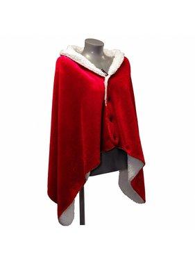 Unique Living sierkussens & plaids Omslagplaid Coby 75x150cm rood