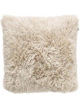 dutch decor sierkussens & plaids Sierkussen / sierkussens Fluffy 45x45 cm Zand
