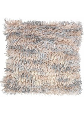dutch decor sierkussens & plaids Sierkussen / sierkussens Lyster 45x45 cm nude multi