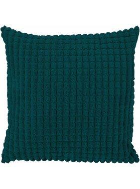 dutch decor sierkussens & plaids Sierkussen / sierkussens Rome 45x45 cm Smaragd