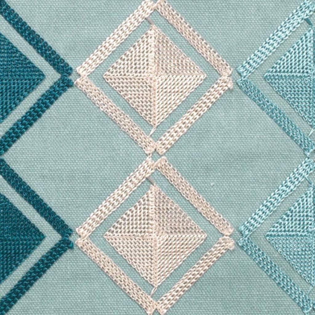 dutch decor sierkussens & plaids sierkussen Tarva 45x45 cm mist multi