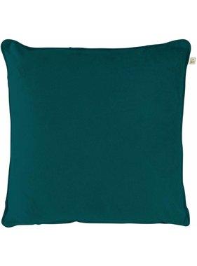 dutch decor sierkussens & plaids Sierkussen / sierkussens Velvet 45x45 cm Smaragd