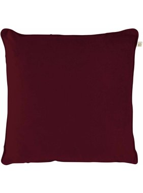 dutch decor sierkussens & plaids Sierkussen / sierkussens Velvet 45x45 cm Bordeaux