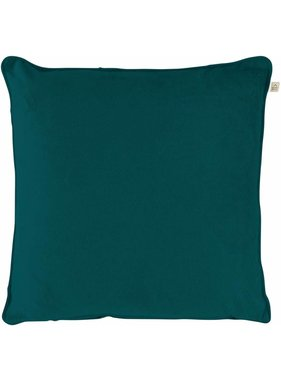 dutch decor sierkussens & plaids Sierkussen / sierkussens Velvet 70x70 cm Smaragd