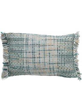dutch decor sierkussens & plaids Sierkussen / sierkussens Vivan 40x60 cm Jade