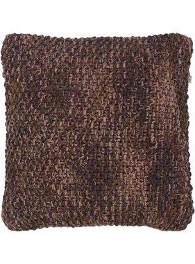dutch decor sierkussens & plaids Kussenhoes Dorran 45x45 cm bordeaux