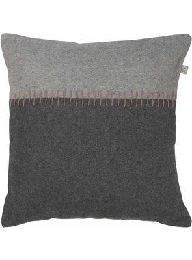 dutch decor sierkussens & plaids Kussenhoes Gimse 45x45 cm Donkergrijs
