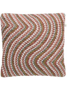 dutch decor sierkussens & plaids Kussenhoes Ingo 45x45 cm  Donkergrijs