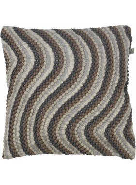 dutch decor sierkussens & plaids Kussenhoes Ingo 45x45 cm  Taupe