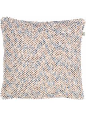 dutch decor sierkussens & plaids Kussenhoes Isunda 45x45 cm Mist