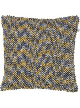 dutch decor sierkussens & plaids Kussenhoes Isunda 45x45 cm  Blauw