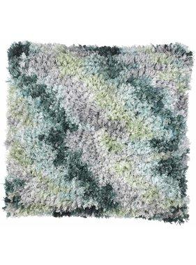 dutch decor sierkussens & plaids Kussenhoes Laura 45x45 cm  Smaragd