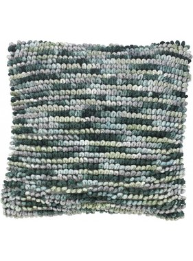 dutch decor sierkussens & plaids Kussenhoes Liam 45x45 cm Jade
